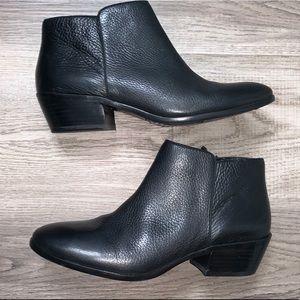 Sam Edelman Petty Leather Ankle Booties Sz 8.5